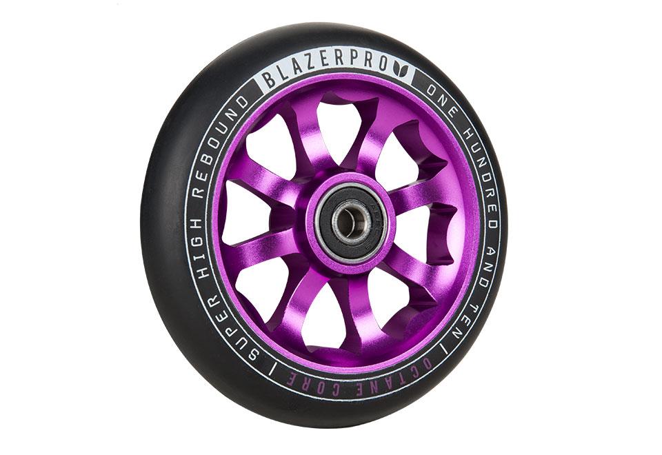Blazer Pro Octane Wheels Purple