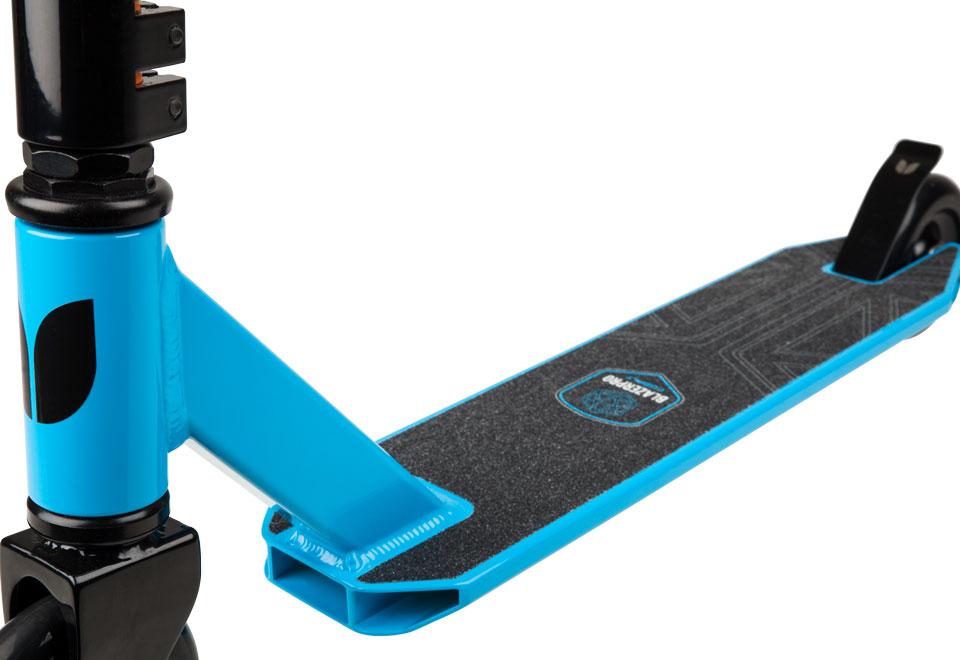 Blazer Pro Complete Scooter - Cobalt Series Blue Front Fork Detail