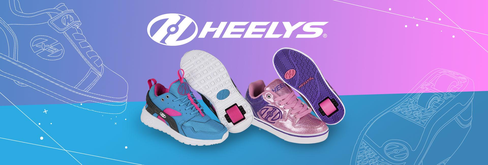 Heelys are the original wheeled shoe