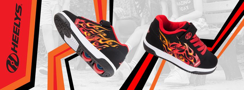 Heelys Dual Up Flames
