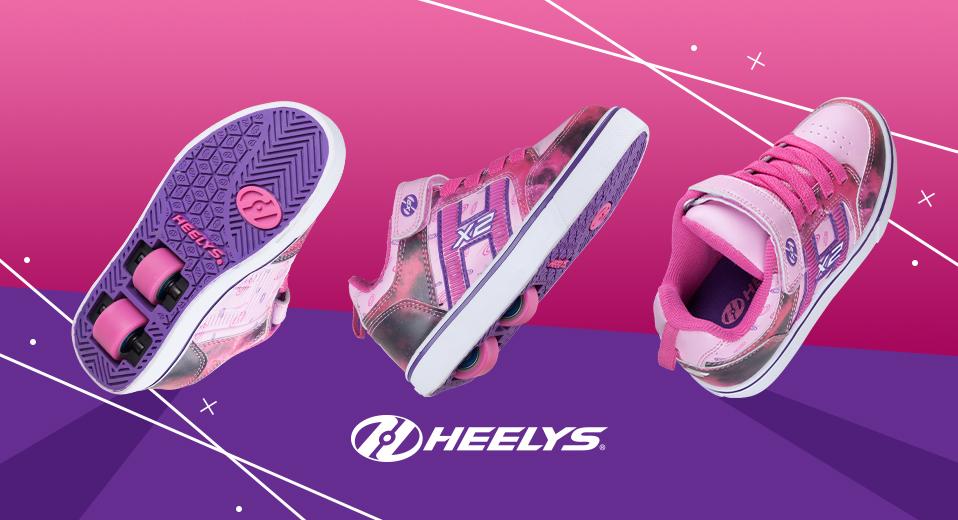 Heelys Bolt Plus Purple Space Banner