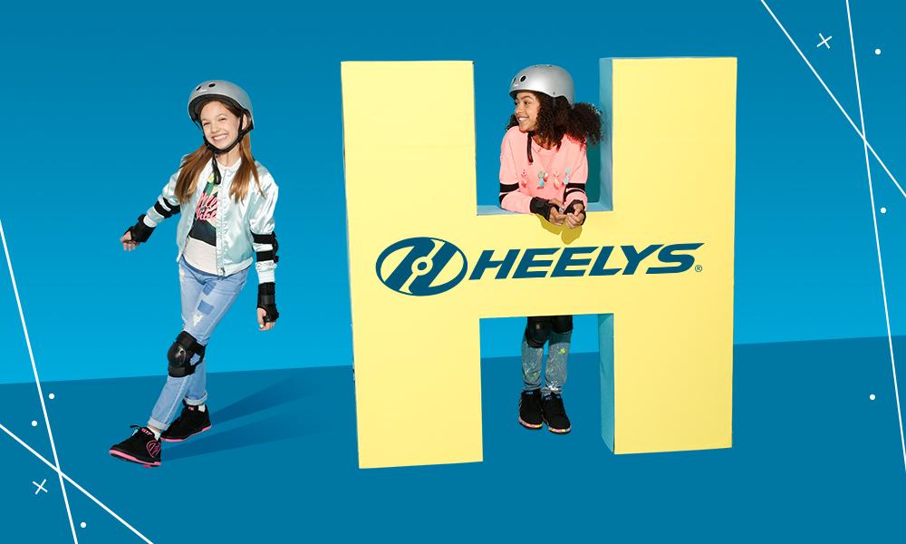 Heelys lifestyle - blue yellow H