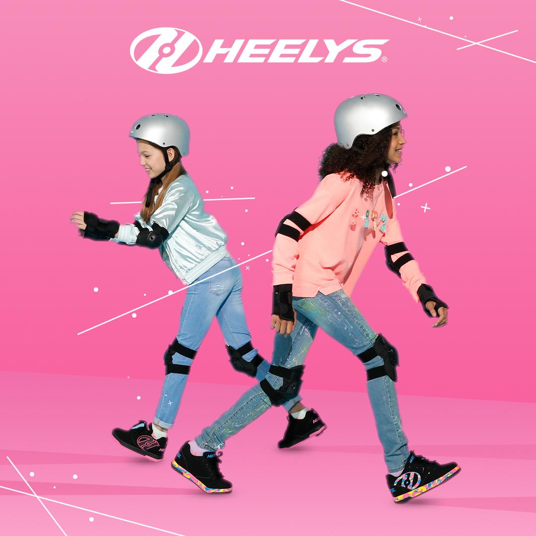 Heelys lifestyle - Pink pair