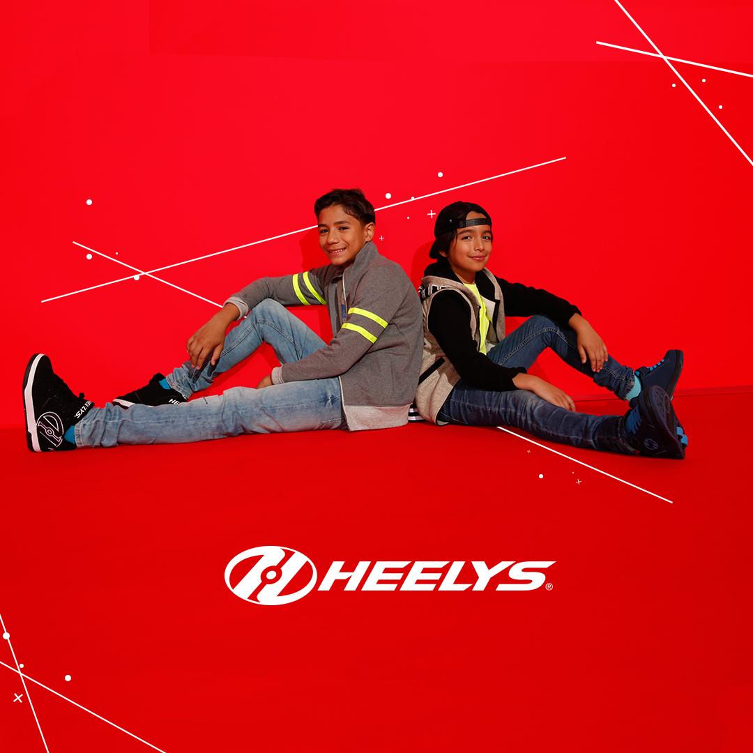 Heelys lifestyle red boys