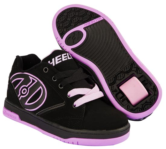 Heelys Propel 2.0 Black Lilac 1 Wheel Girls Shoe 770516