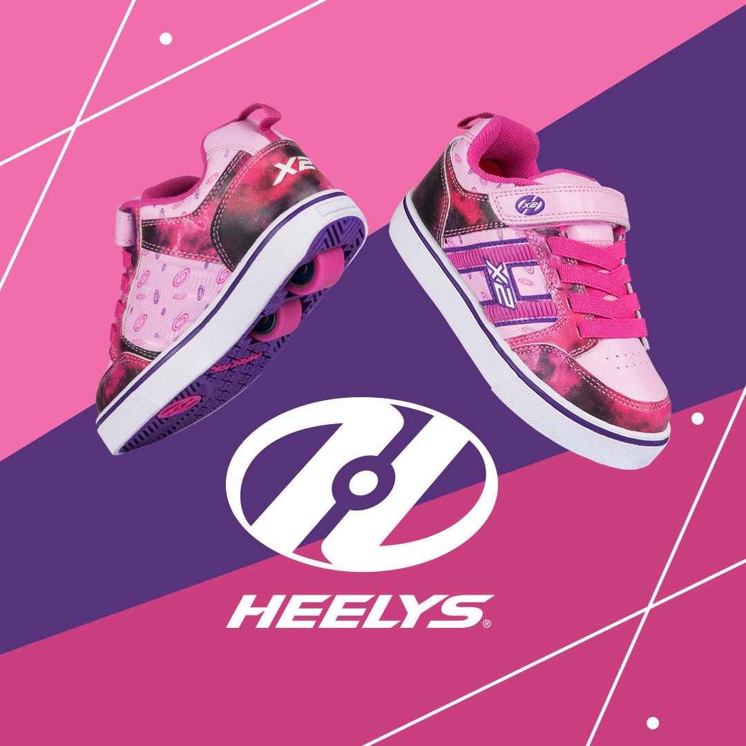 Heelys Bolt Plus Purple Space Insta
