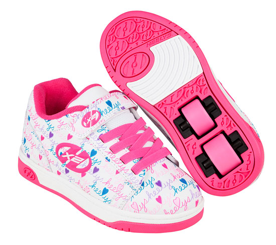 Heelys Spring Summer 2017 770953 Dual Up X2 White Pink Multi