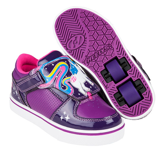 Heelys Spring Summer 2017 770958 Twister X2 Grape Purple Hot Pink