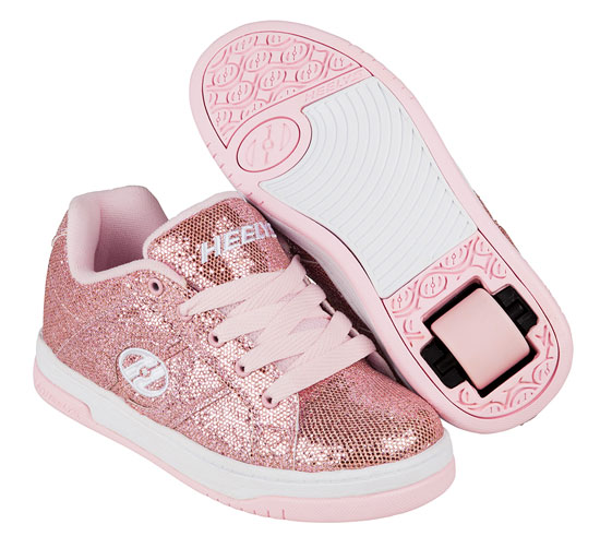 Heelys Spring Summer 2017 770970 Split Light Pink Disco Glitter