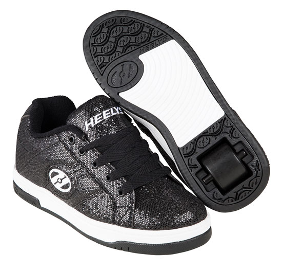 Heelys Spring Summer 2017 770971 Split Black Disco Glitter