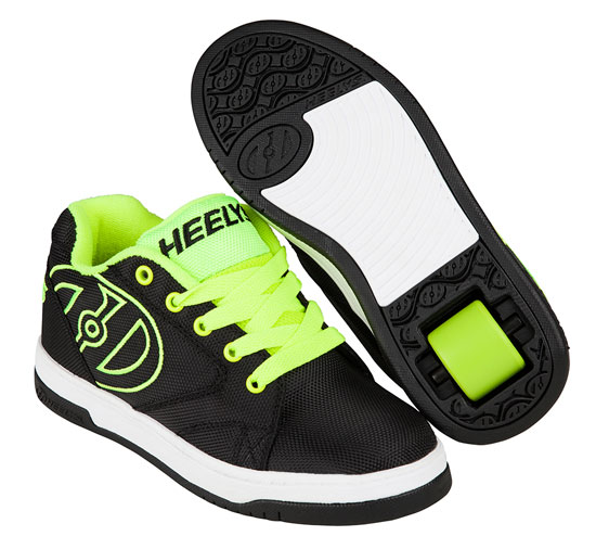 Heelys Spring Summer 2017 770977 Propel 2.0 Black Bright Yellow Ballistic