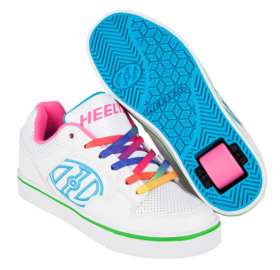 Heelys Spring Summer 2017 770997 Motion Plus White Rainbow