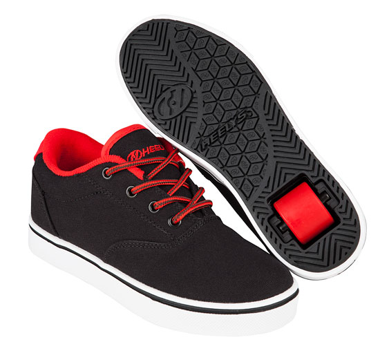 Heelys Spring Summer 2017 771016 Launch Black Black Red