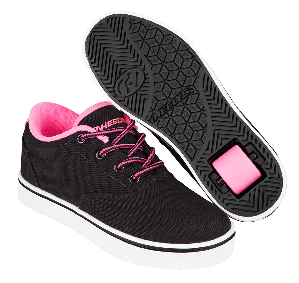 Heelys Spring Summer 2017 771023 Launch Black Neon Pink White