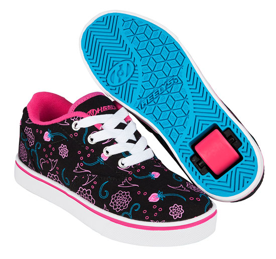 Heelys Spring Summer 2017 771027 Launch Black Hot Pink Blue