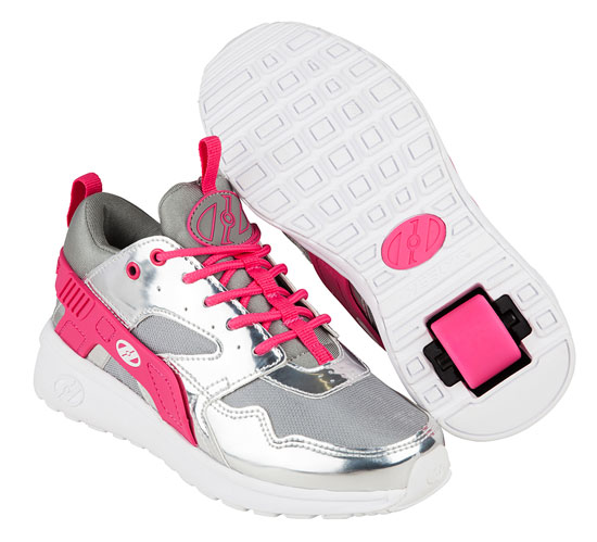 Heelys Spring Summer 2017 771041 Force Silver Grey Pink
