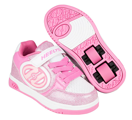 Heelys Spring Summer 2017 771071 Plus X2 Light Pink White