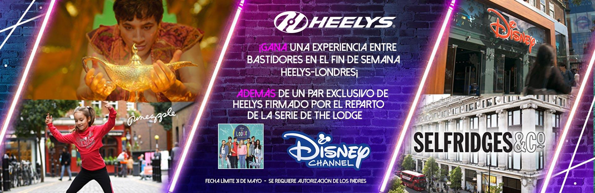 ¡Gana una experiencia entre bastidores en el fin de semana Heelys-Londres¡