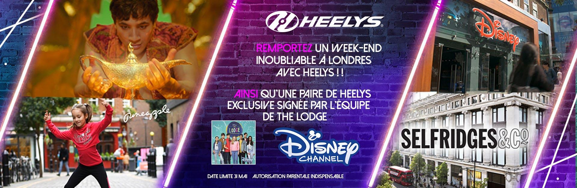 Remportez un week-end inoubliable à Londres avec Heelys!