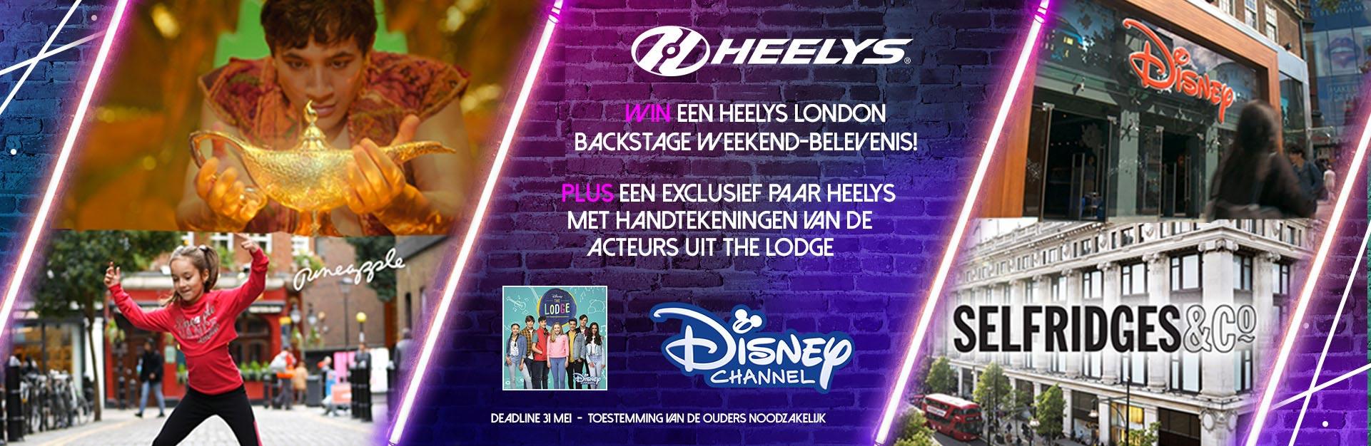 Win een Heelys London Backstage Weekend-belevenis!