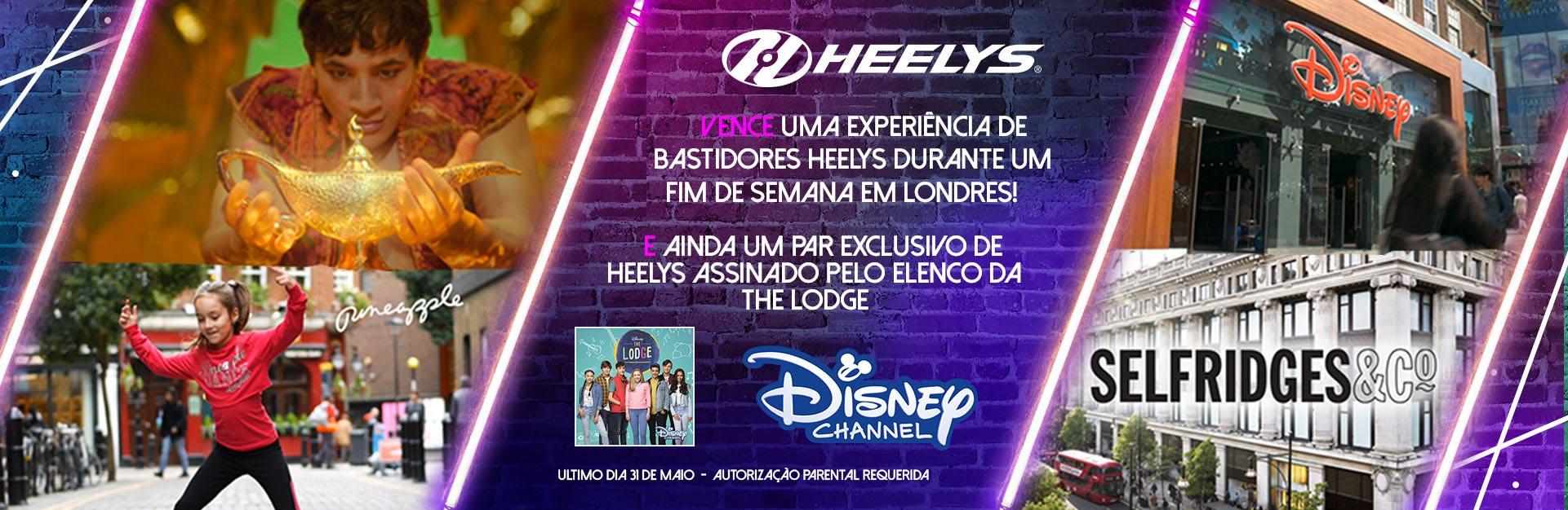 Vence uma experiência de bastidores Heelys durante um fim de semana em Londres!
