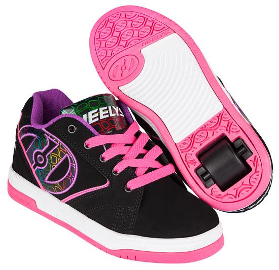 Heelys Back To School 2017 Propel 2.0 Black Pink Purple 770990
