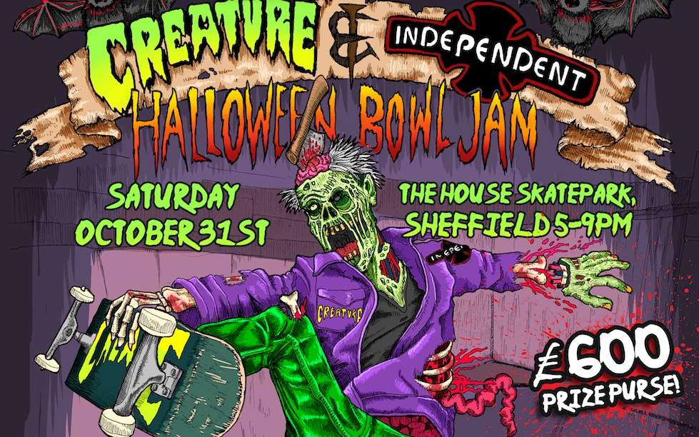 creature halloween jam-cropped