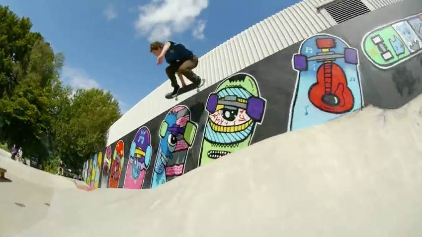 Rollersnakes Summer Tour 2015: Park Footage