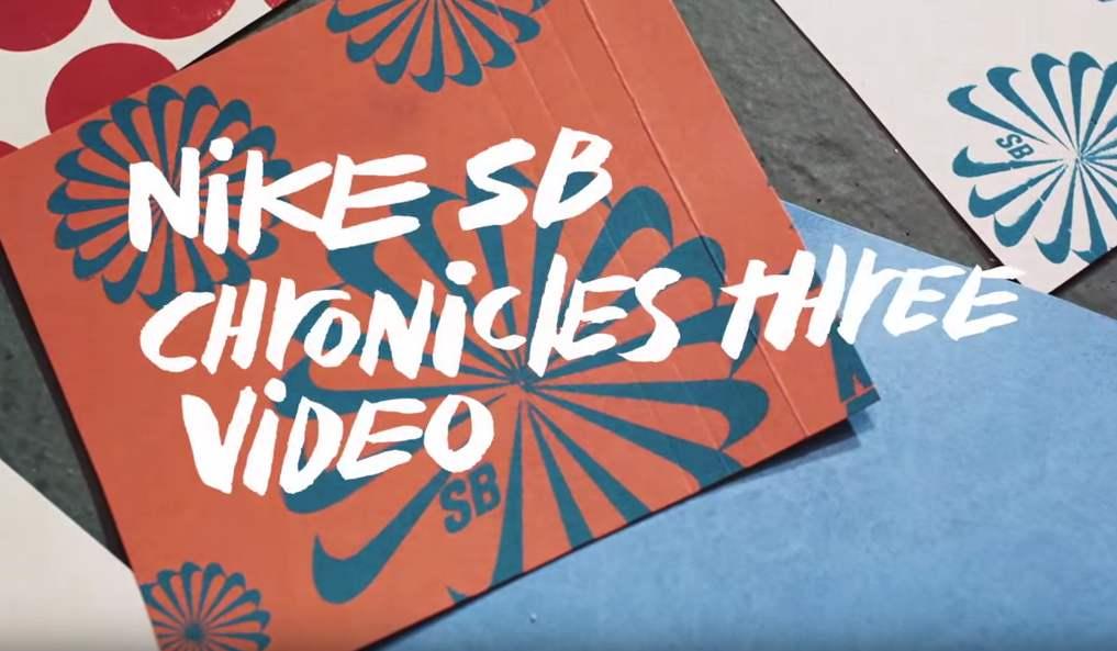 nike sb, chronicles 3 video
