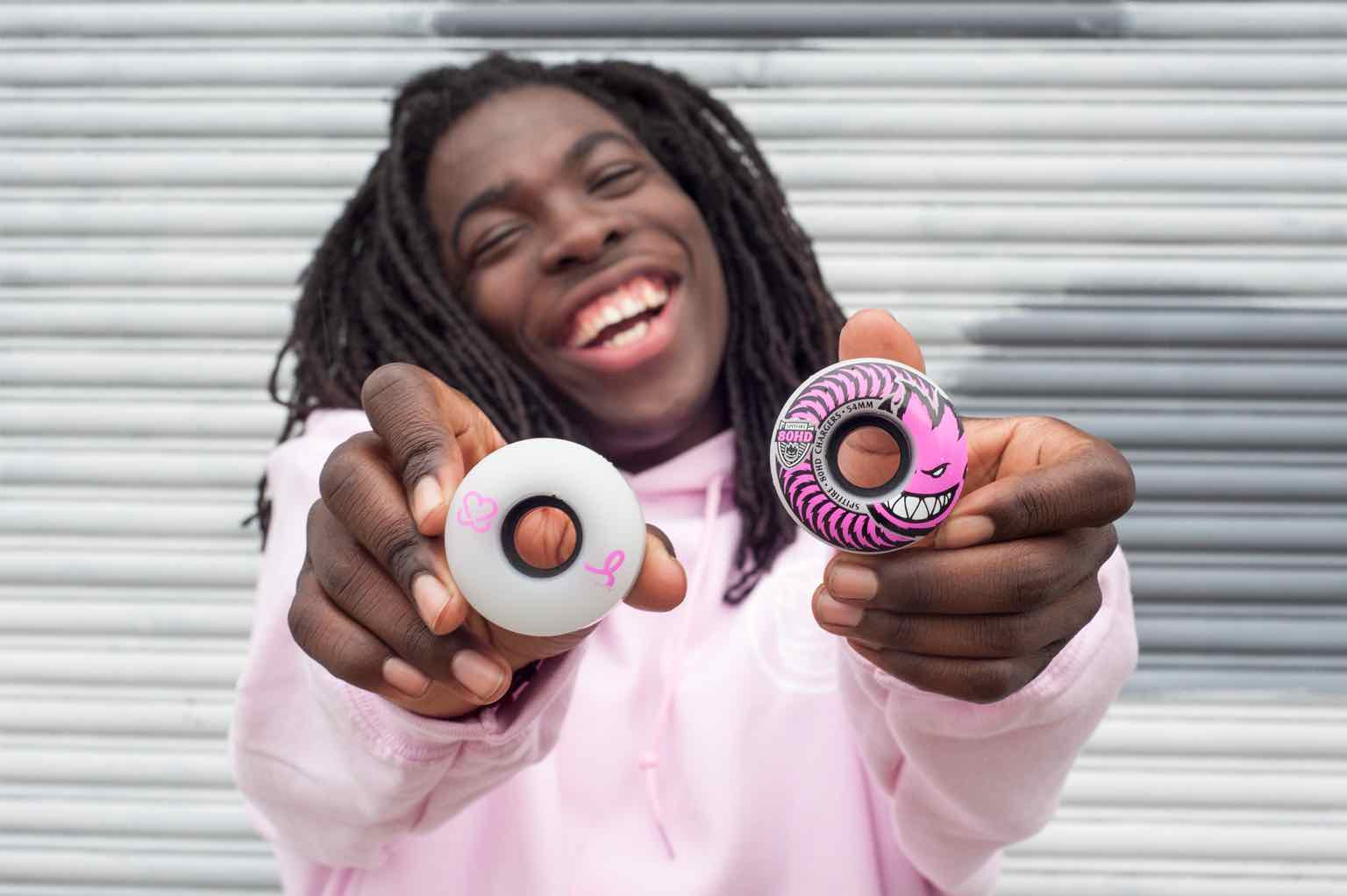 pushing for pink, spitfire wheels, gary rogers