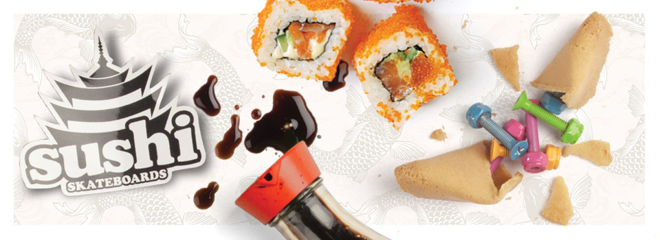 Sushi Skateboards Web banner