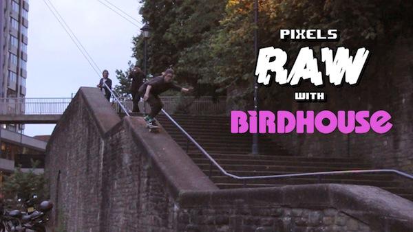 Pixels Raw - Birdhouse Street and vert