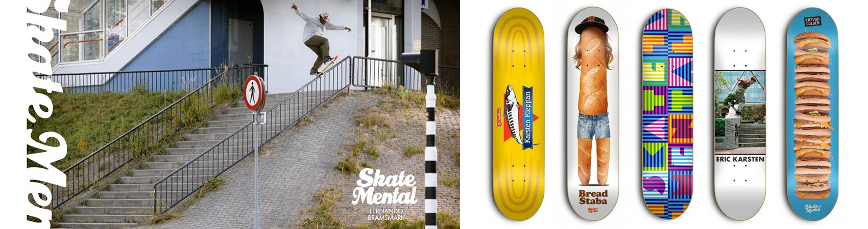 Skate Mental Digital Banner