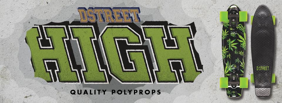 D Street High