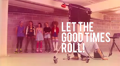 Rookie Rollerskates - Let the good times roll