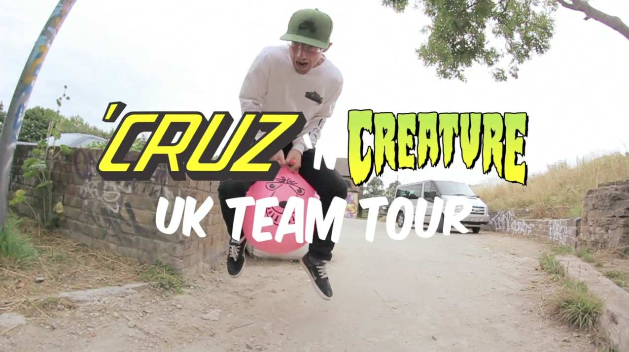 Cruz N Creature UK team Tour 2015