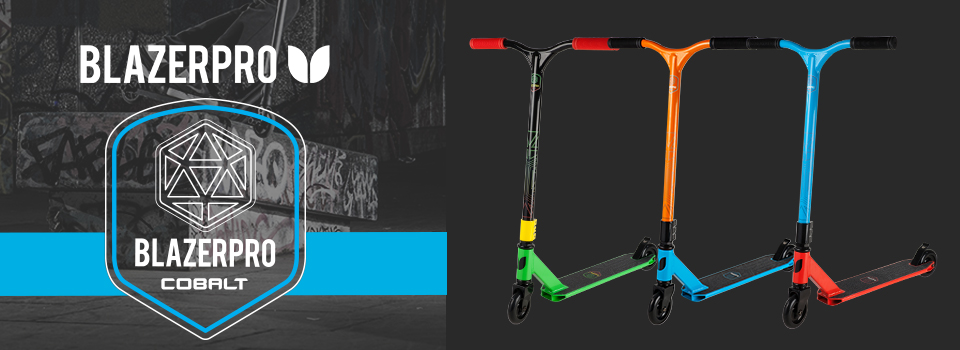 BlazerPro Cobalt Complete Scooter