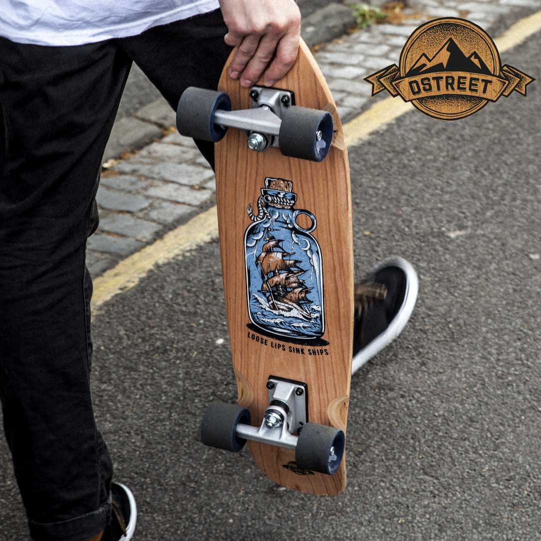 D Street Loose Lips Wooden Cruisers New Range